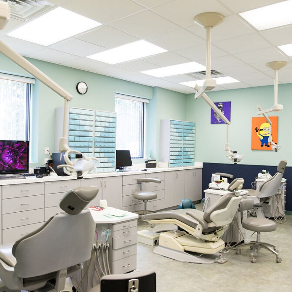 Spring and sprout pediatric dentistry chairs